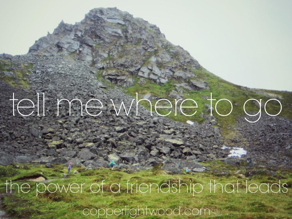 tell me where to go: the power of a friendship that leads