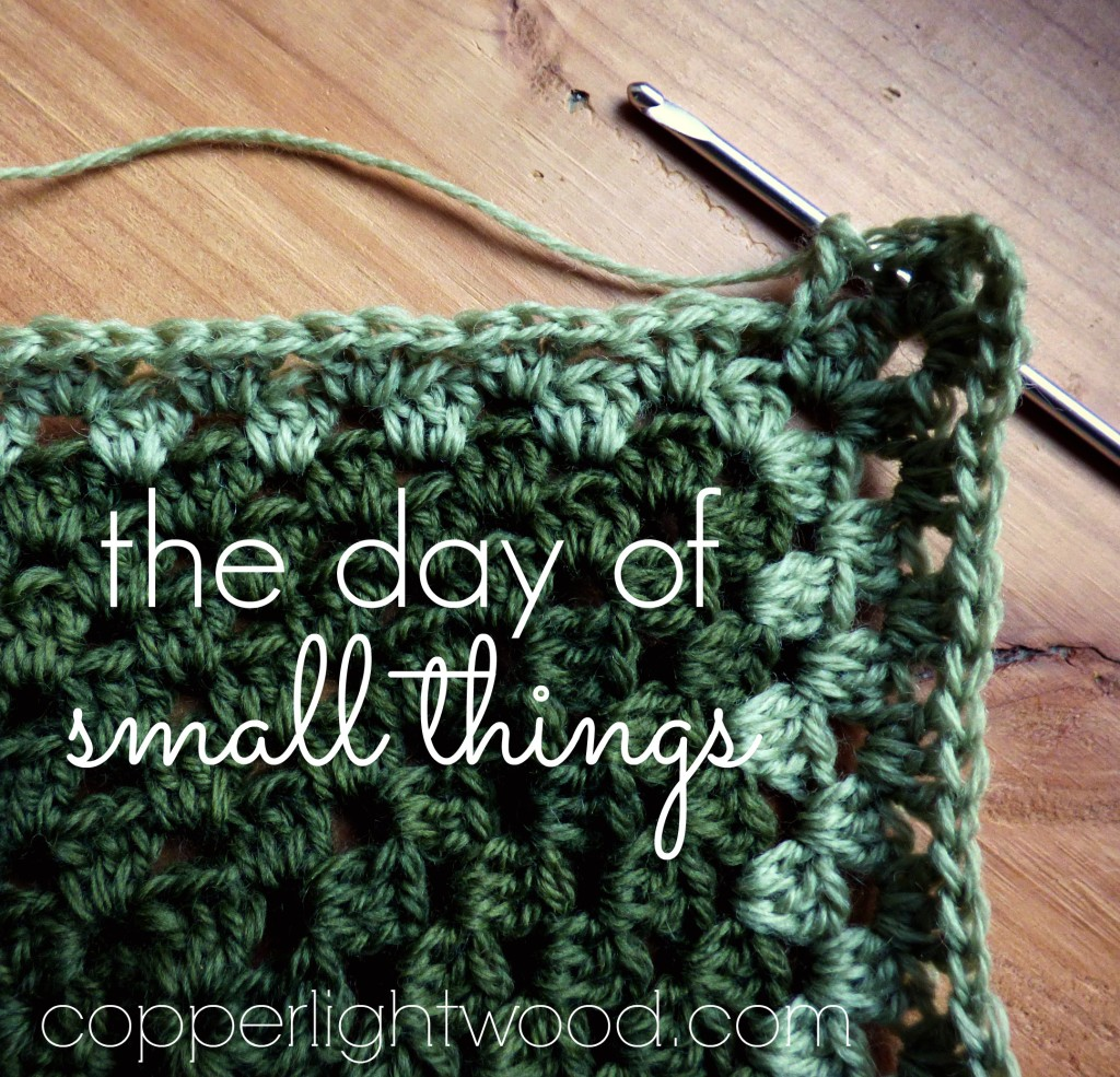 the day of small things - Copperlight Wood