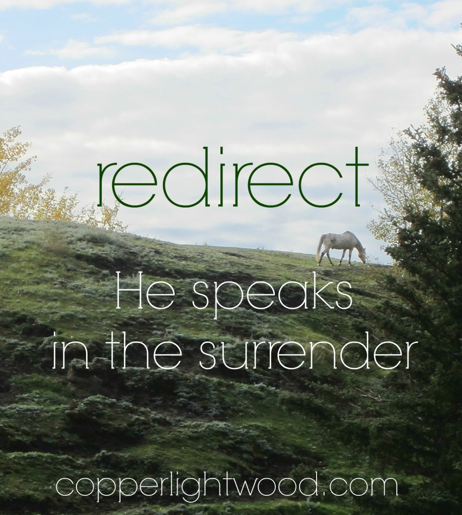 redirect: He speaks in the surrender