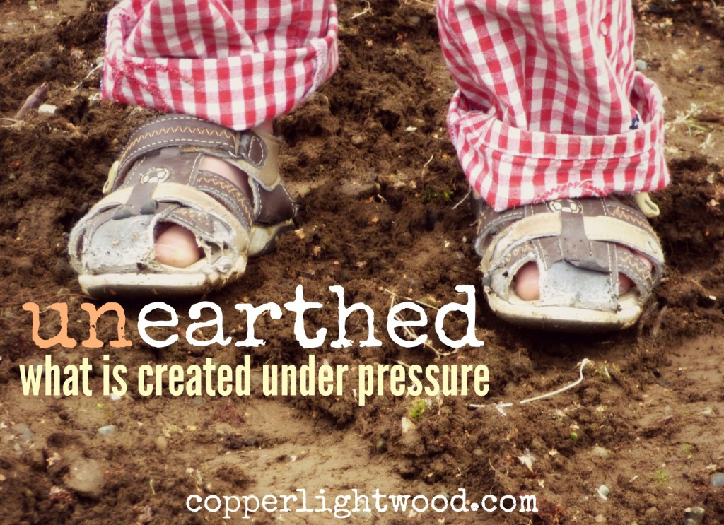 unearthed: what is created under pressure