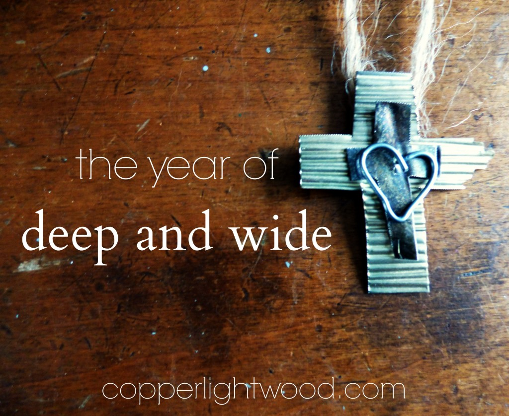 the year of deep and wide: making 2016 about the call to pray, educate, and change the atmosphere through worship
